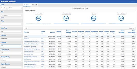 portfolio monitor screenshot