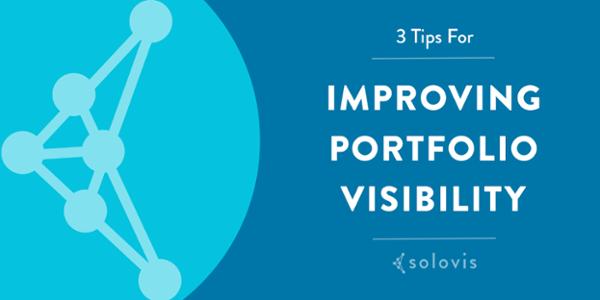 3 tips for portfolio visibility