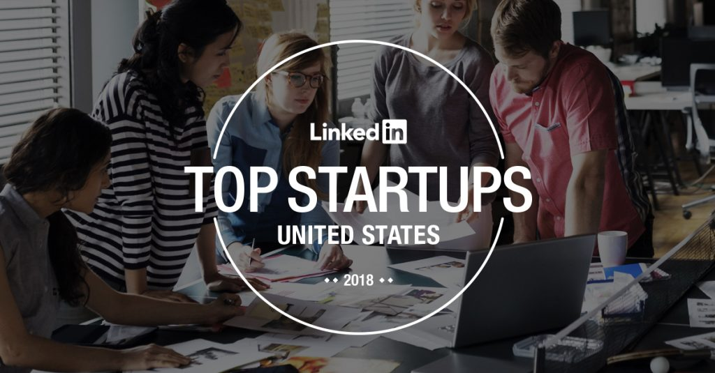 Solovis in 2018 LinkedIn Top Startups