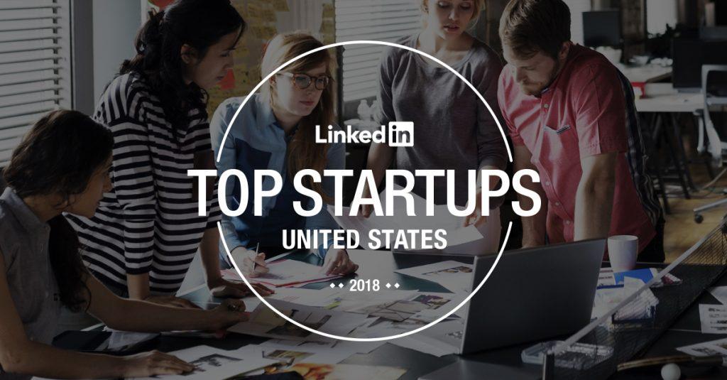 Solovis in 2018 LinkedIn Top Startups